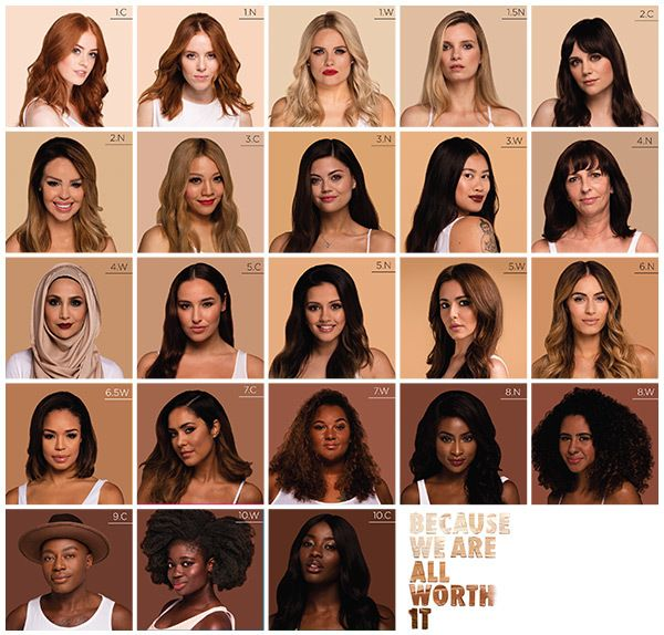 Love this capaign for L'Oreal Paris True Match - 'Because We Are All Worth It'