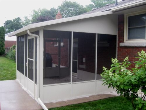 Diy screen room kits top patio enclosures do it yourself for Screen room plans