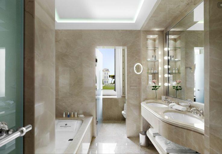 25 moderne Luxus-Badezimmerdesigns