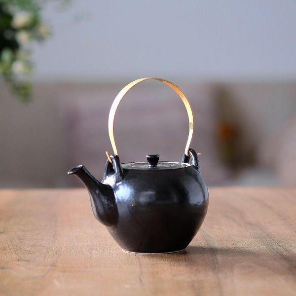 波佐見焼 土瓶/ベーシックブラック | キッチン,ティー&コーヒー | オルネドフォイユWEBショップ