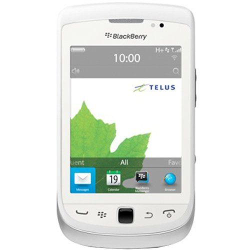 BlackBerry Torch 9810 White WiFi Unlocked GSM QuadBand 3G Cell Phone