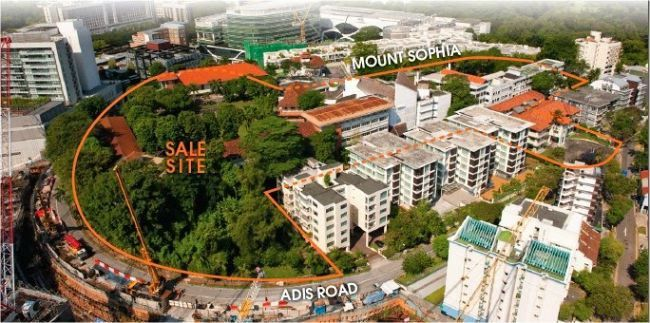 Sophia Hills @ Mount Sophia a Brand New Condominium located at Singapore Prime District 9, Call Sales Hotline 61009989 to Register Now