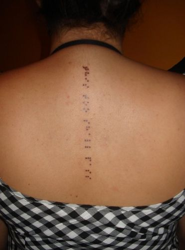 Braille Tattoo by crutty, via Flickr