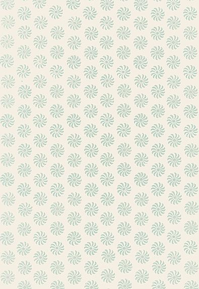 Bombay | 5005292 - Water Blue | Schumacher Wallcovering