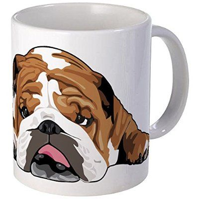 CafePress - Teddy The English Bulldog - Coffee Mug, Novelty Coffee Cup