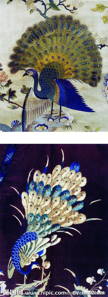 Gorgeous Chinese embroidery