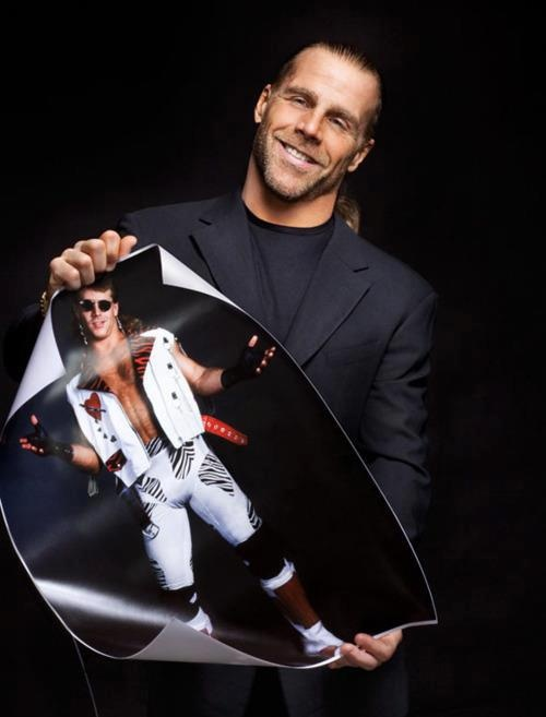 HBK  old & new Wwe Wwf