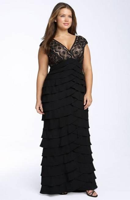 Vestidos, Vestidos Suegra, Vestidos Largos Para Gorditas, Vestidos De Gasa, Vestidos Bonitos, Atuendos, Moda Plus, Talla Grande, Moda Grande