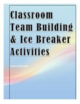 This package is a fantastic resource for teachers to incorporate team building and climate establishing activities in their classrooms.  The activities are specifically designed to be engaging and co-operative amongst all student levels.  Each activity enforces communication, teamwork and trust within students with a flavor of fun for all to participate and enjoy!