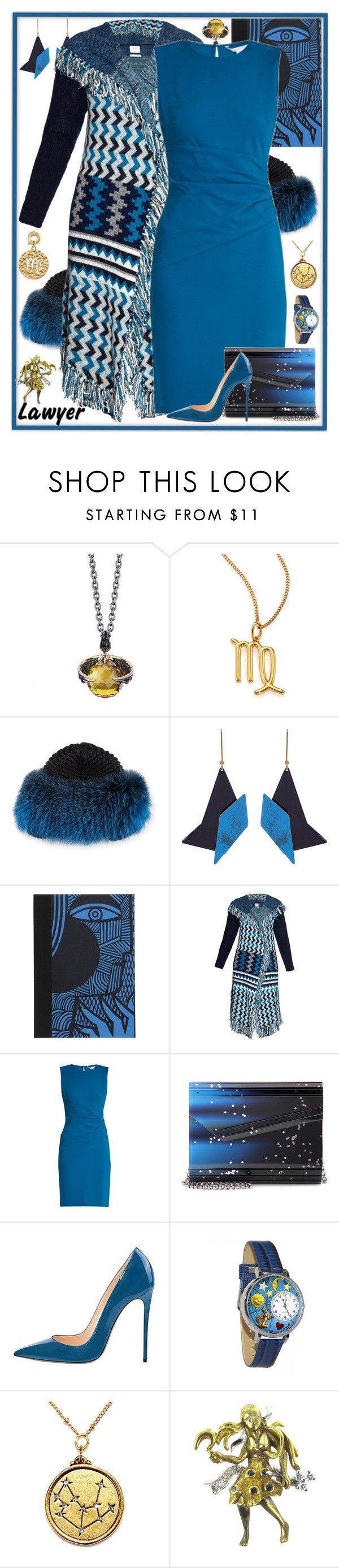 """""""What's Your Sign: Cosmic Jewelry"""" by yours-styling-best-friend ❤ liked on Polyvore featuring Stephen Webster, Chloé, Inverni, STELLA McCARTNEY, Petra Börner, Banjo & Matilda, Diane Von Furstenberg, Jimmy Choo, Whimsical Watches and Vintage"""