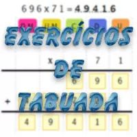 Atividades Educativas - Exercícios de Tabuada                              …