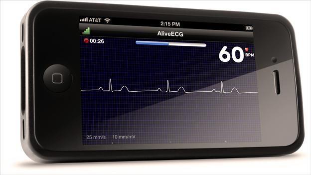 Alive ECG Heart Rate Monitor / Leslie Saxon