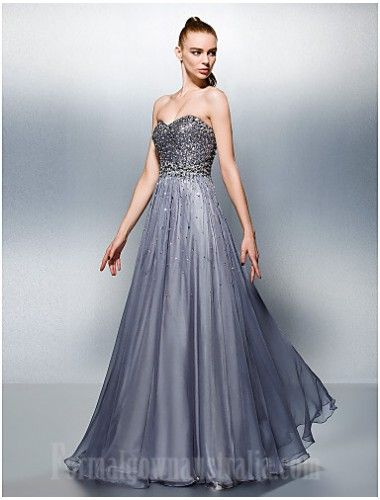Dress Silver Plus Sizes Dresses Petite A Line Sweetheart Long Floor