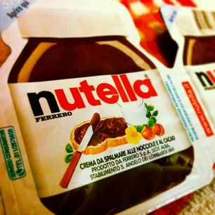 A real Italian global brand …Nutella, not just chocolate but a true passion! #nutella #chocolate #italy #italian #brand #marketing #communication #sweet #cake #passion