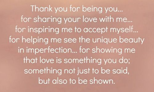 Thank You Love Quotes for Husband