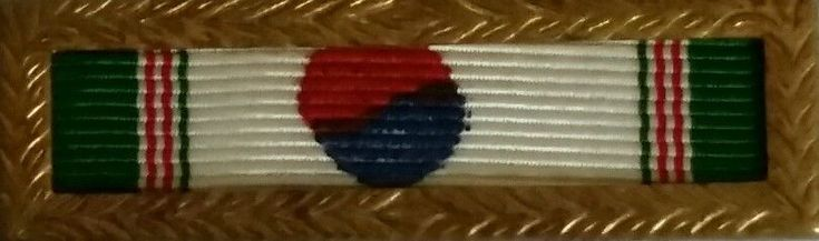 Republic of Korea Presidential Unit Citation Service Ribbon with Army Frame. Issued by the government of South Korea to both Korean military and foreign units. The last major issuance of the decoration was during the Korean War when the decoration was bestowed to several U.S., U.K., and Commonwealth military units.   eBay!