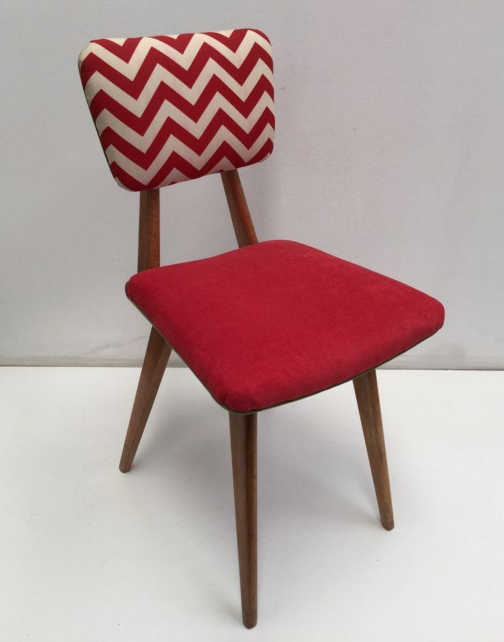silla retro americano escandinavo tapizadas tela pana