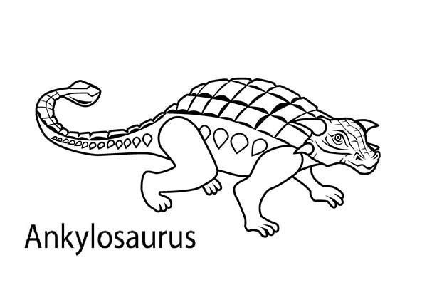Ankylosaurus Picture Of An Ankylosaurus Coloring Page Online Coloring Pages Coloring Pages Dinosaur Coloring Pages