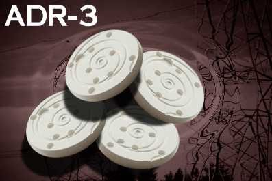The ADR Shield EMF Protection disc is recommended to reduce symptoms associated from exposure to negative energy fields, geopathic, electromagnetic (emf) and microwave radiation fields.