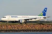 H4-BUS Solomon Airlines Airbus A320-211