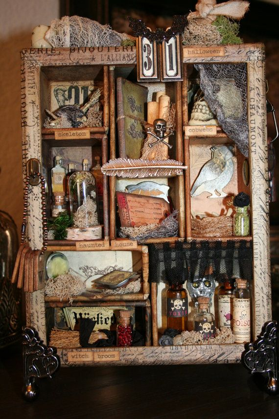 25 best ideas about halloween shadow box on pinterest shadowbox ideas shadow frame and. Black Bedroom Furniture Sets. Home Design Ideas