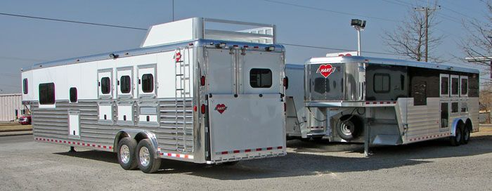 A Great Review Of Hart Trailers By Quot Mr Truck Quot Hart Horse
