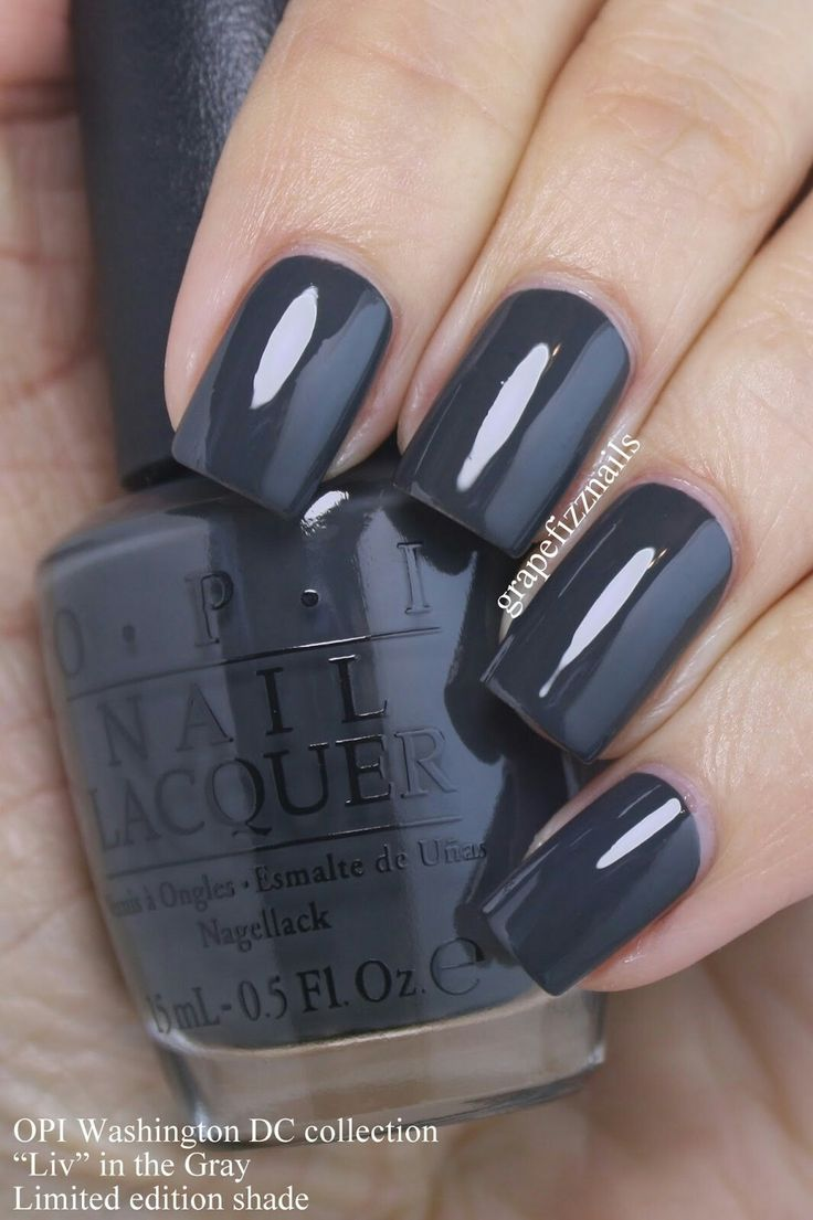 45 best OPI Silver & Grey Shades images on Pinterest | Enamels, Nail ...