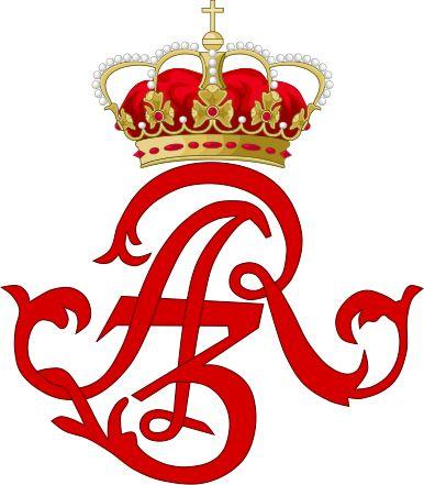 Royal Monogram of King Augustus III of Poland.