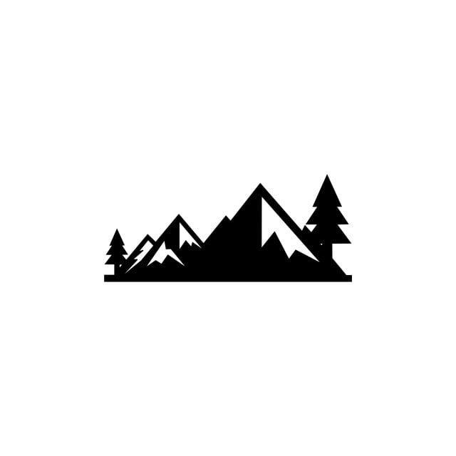 Mountains Vectormountain Range Silhouette Isolated Vector Illustration Mountains Silhouette Mountain Vector Illustration Mountain Clipart Mountain Icons Silh Mountain Silhouette Sky Logo Vector Illustration