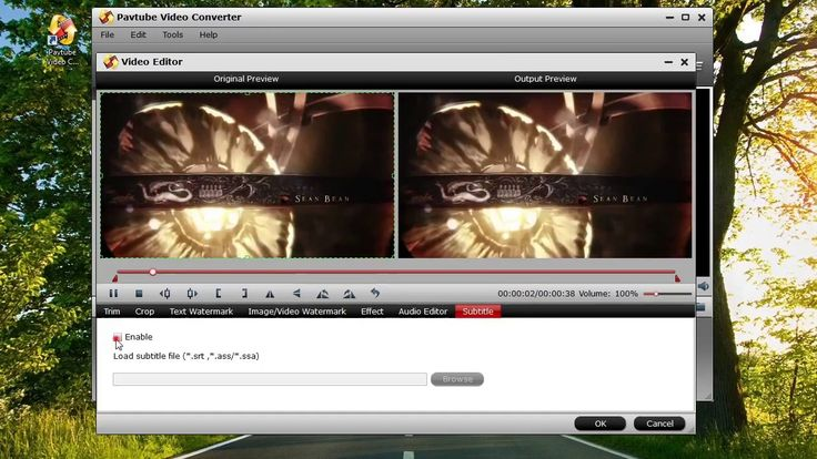 Add subtitles to videos with Pavtube Video Converter