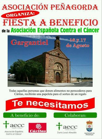 Fiesta 16 y 17 de agosto Gargantiel