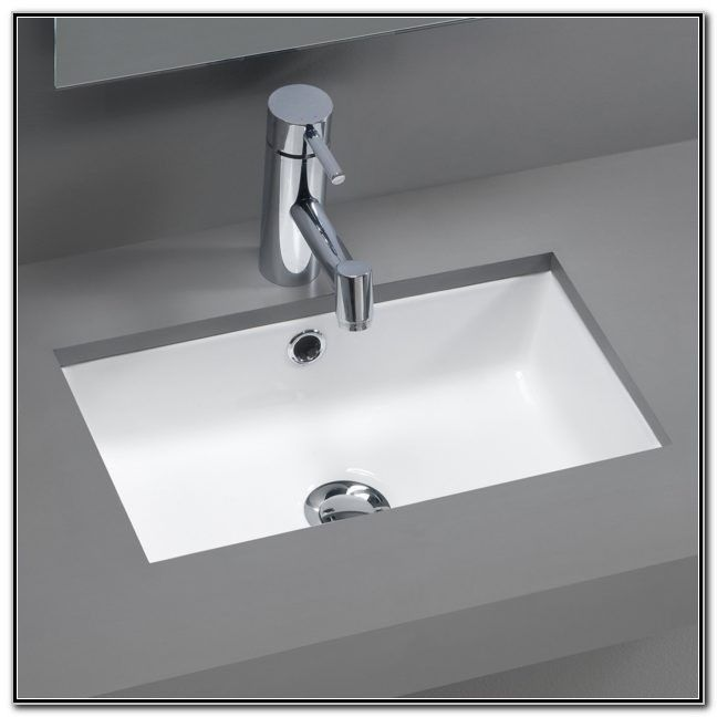 Small Undermount Bathroom Sink Sink And Faucets Home