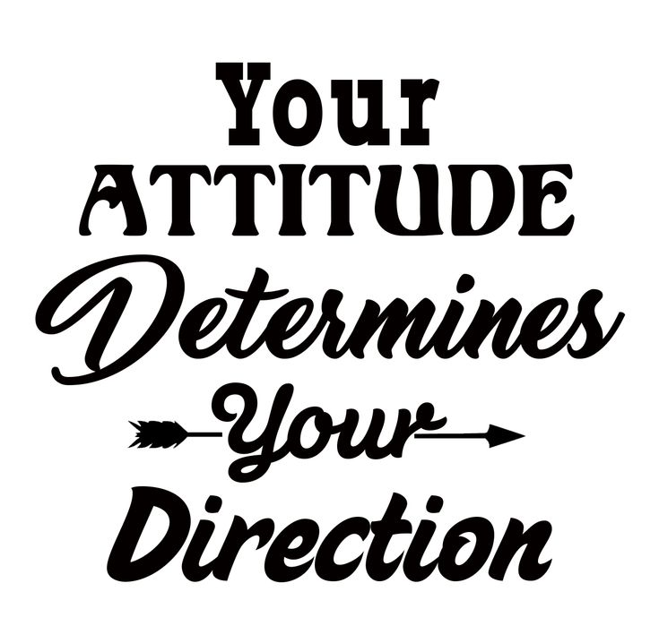 FREE Your Attitude Determines Your Direction SVG - Free SVG Files