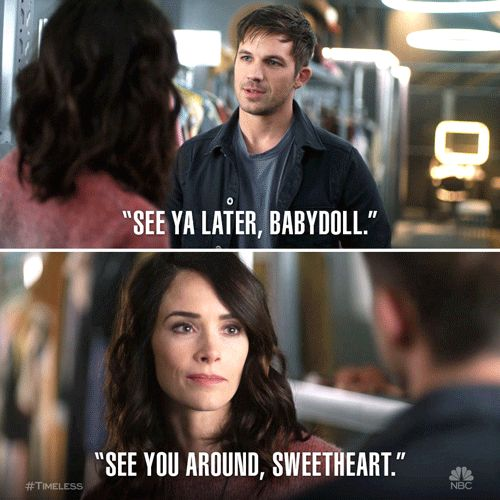 Wyatt and Lucy (Timeless)