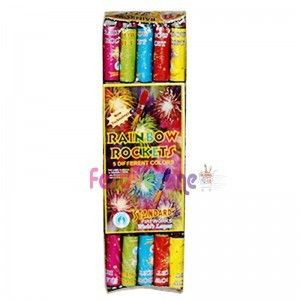 Rainbow Rockets Fireworks - Crackers Online Shopping Bangalore http://www.festivezone.com/cracker-detail/rainbow-rockets.html