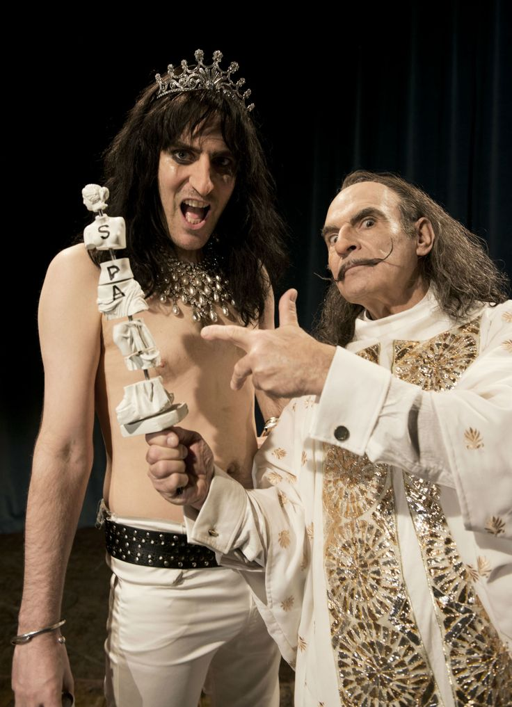 Noel Fielding will play Alice Cooper and Jack Whitehall is Marc Bolan in new series of Sky Arts' Urban Myths - DigitalSpy.com