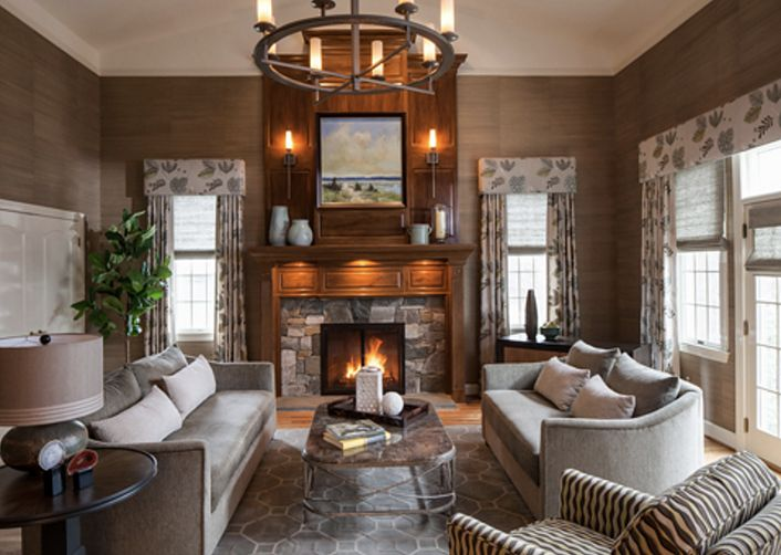 2015 ASID Award Of Excellence First Place Residential Interior Design Family Room Living Transitional By A Houck Designs