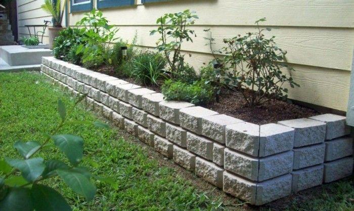 Die Wichtigste Stichpunkte Wenn Sie Ein Stein Hochbeet Selber Bauen Gartengestaltung Hochbeet Und Blumenbeete