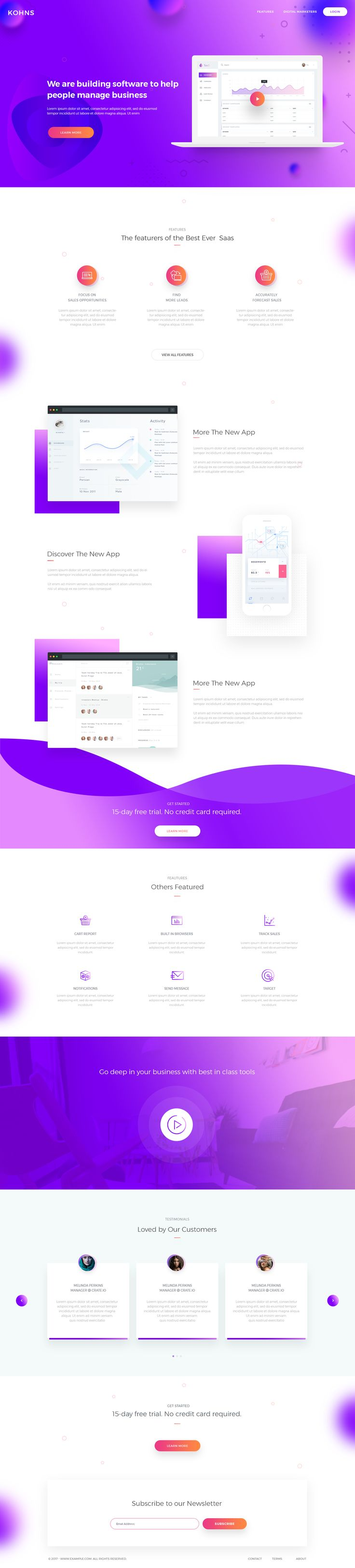 https://dribbble.com/shots/3958110-Saas-Landing-Page-V4/attachments/904161