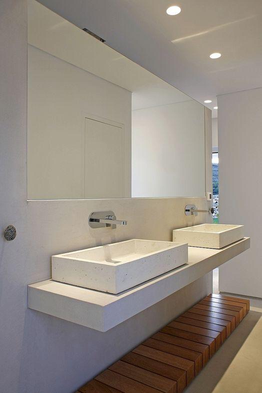 Floating vanities | Paros Agnanti Hotel