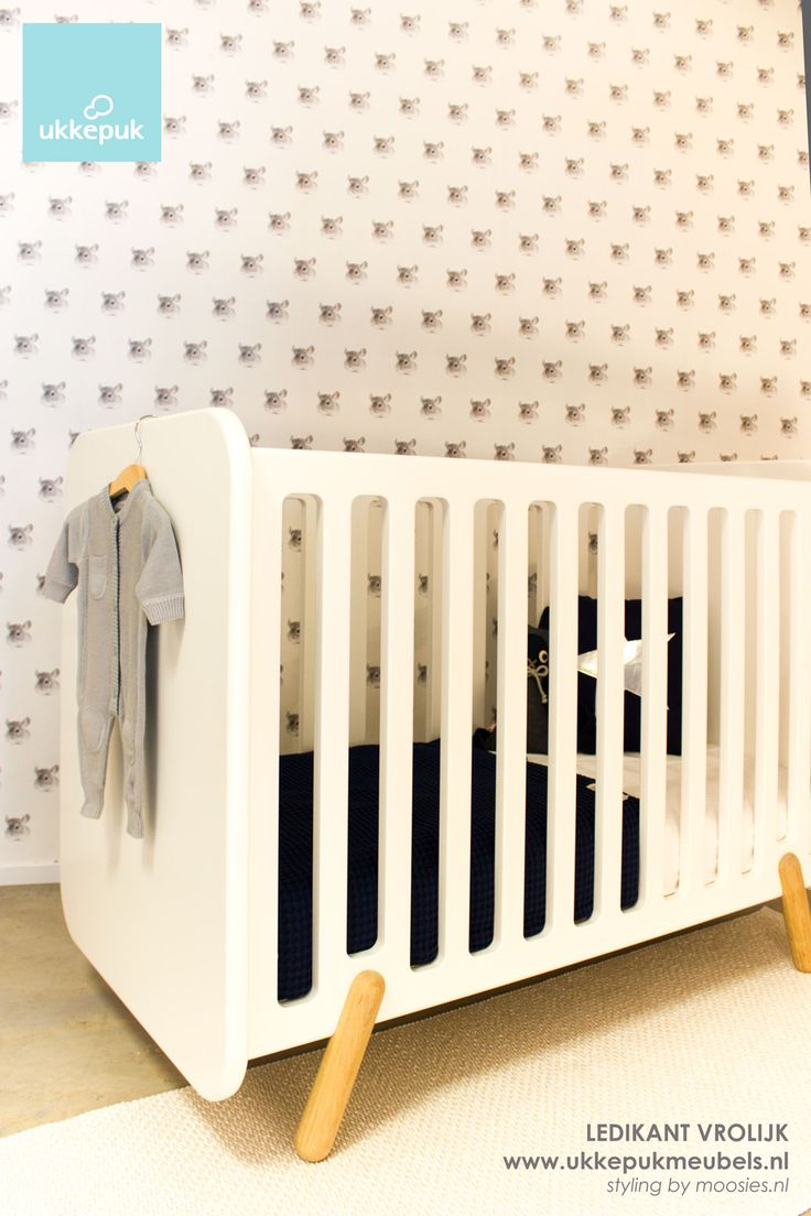 Babyledikant Vrolijk - Ukkepuk meubels - kinderkamer