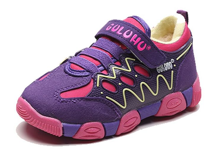 iDuoDuo Kids Classic Contrast Color Hook-and-Loop Sneakers Running Shoes Purple 11 M US Little Kid. Unisex kids running shoes with hook-and-loop closure, easy to pull on and off by themselves. Featuring classic contrast color design and wear-resistant oxford fabric and synthetic material. Anti-collision toe and reinforced contrast stitching, provide kids more protection. Breathable and comfortable mesh and cotton lining brings kids better wearing experience. Sturdy and anti-slip rubber…