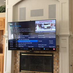 """MantelMount® Pull-Down TV Wall Mount Bracket w/ Full Motion for 48-80""""inch, 30-115lb LCD, LED & Plasma Flat Screen TV's, Perfect Over Fireplace"""
