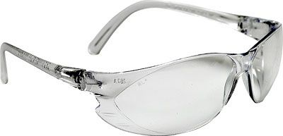 Clear safety glasses