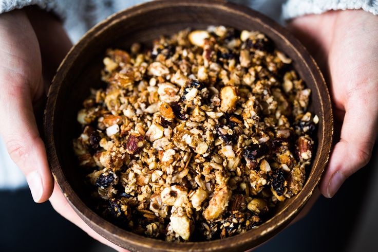 Thermomix Granola with Nuts and Fruit   Thermomix Baking Blogger