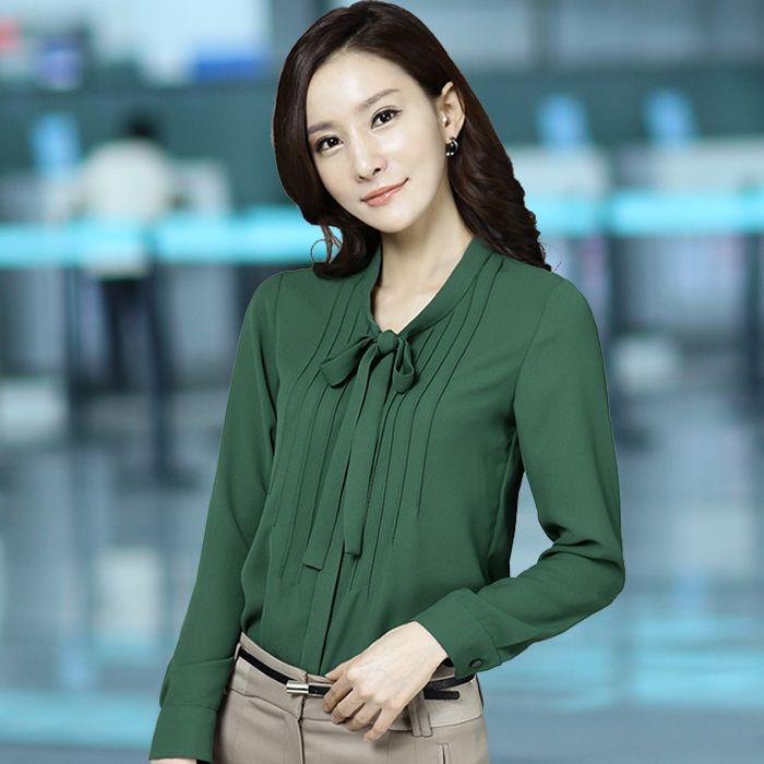 Resultado de imagen para modelos de camisa verde para mujer elegante