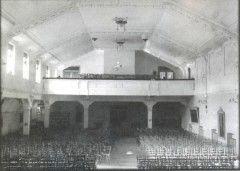 a Pflum mozi és táncterem az 1910-es években