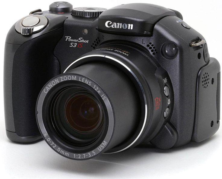 Canon Powershot S3 IS Camera