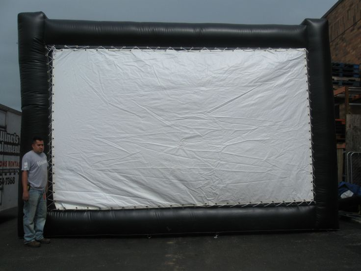 inflatable movie screen Chicago Party Rentals