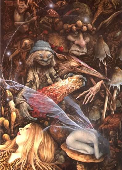 Brian Froud and Alan Lee Faeries | Faeries 25th Ann Ed w New Art Illus by Alan Lee Brian Froud Fairy ...